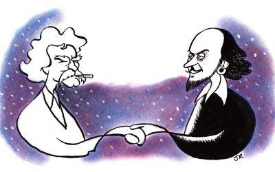 Mark Twain meets William Shakespeare—in Santa Fe