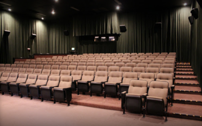 Independent movie theaters and non-commercial arts in Santa Fe