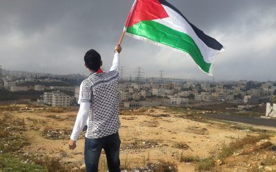 Marching for peace and freedom in Palestine