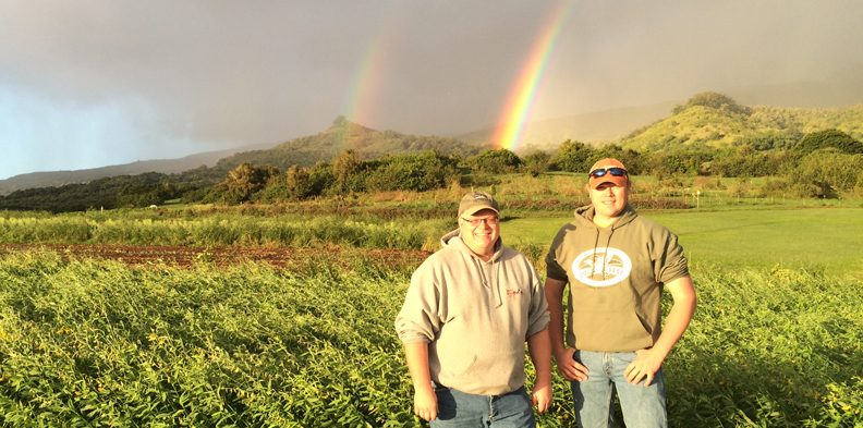 Patron saints of regenerative agriculture: Gabe and Paul Brown