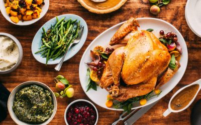 Thanksgiving dinner—and drinks—with Natalie Bovis