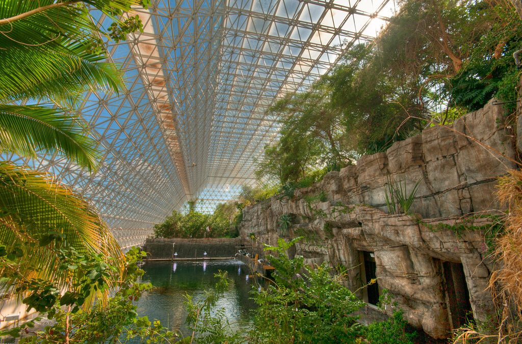 Biosphere 2: Living and farming inside a closed system—for two years
